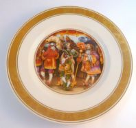 Vintage Royal Copenhagen Hans Christian Andersen The Emperor's New Clothes Plate